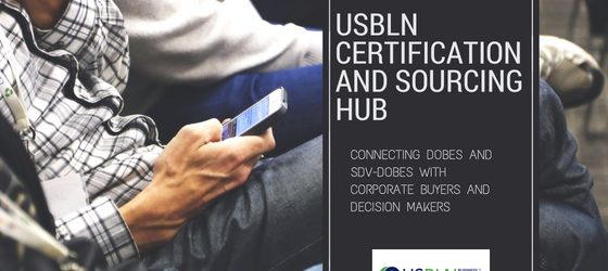 USBLN Technology HUB Connects DOBEs and SDV-DOBEs with Corporate Buyers and Decision Makers