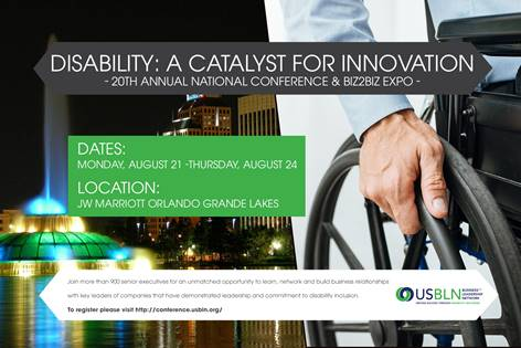 USBLN Conference Theme: Disability: A Catalyst for Innovation
