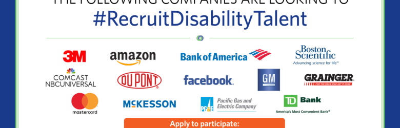 Top corporations are looking to #RecruitDisabilityTalent